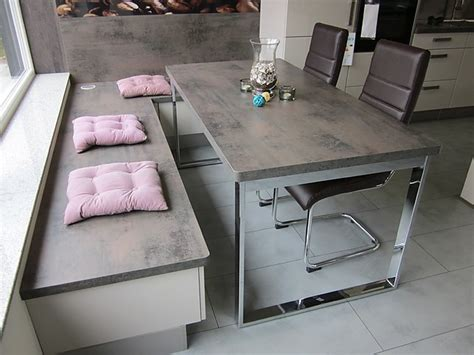 arbeitsplatte steel vintage eckb 228 nke nobilia ausstellungsst 252 ck 555 luxor 838 lack