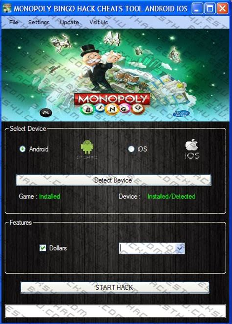monopoly android monopoly bingo hack cheats android ios 2014 app hack