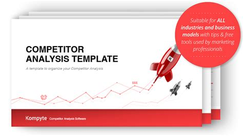 competitor research template competitor analysis template free kompyte