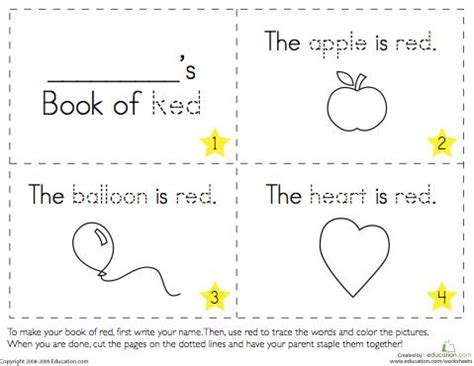 printable kindergarten books 101 best images about shapes and colors on pinterest