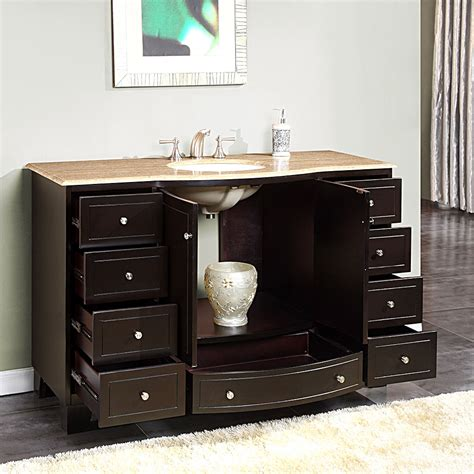 50 inch vanity single sink 55 inch bathroom vanity single sink bathroom design ideas
