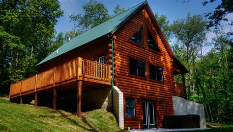 Hocking Log Cabins by Hocking Log Cabins Vacation Rentals Southeast Ohio