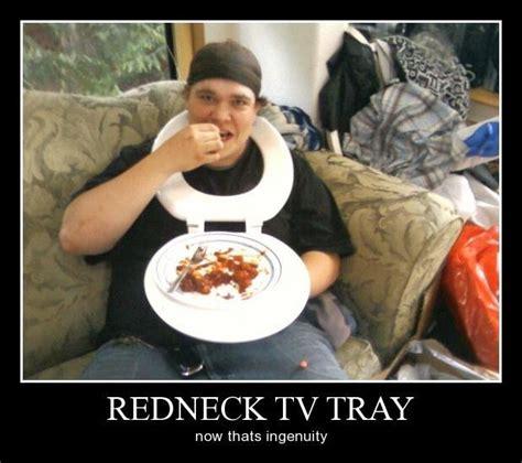 Redneck Meme - redneck tv tray