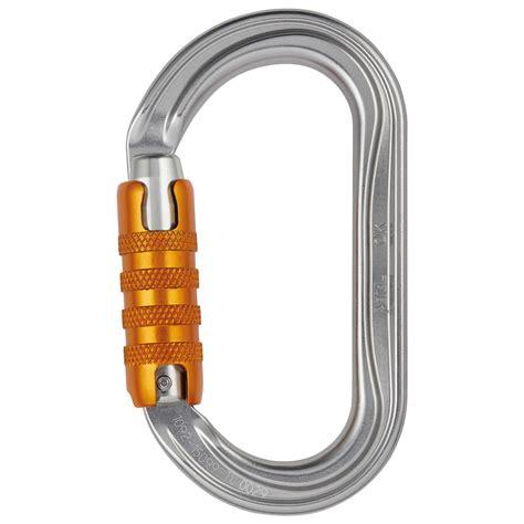 Petzl Lock Carabiner Climbing petzl ok triact lock locking carabiners buy alpinetrek co uk