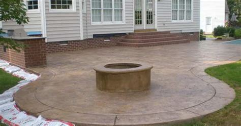 Outdoor Concrete Patio Designs Lighting Furniture Design Small Concrete Patio Designs