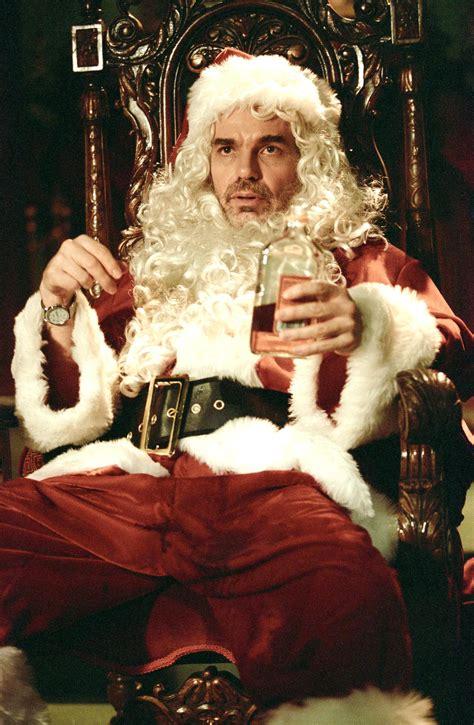 pin still of billy bob thornton and tony cox in bad santa