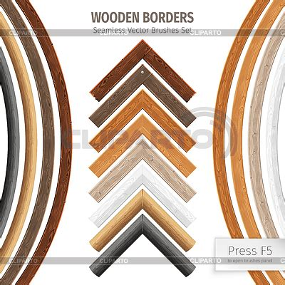 wooden pattern brush borders stock photos and vektor eps clipart cliparto 5