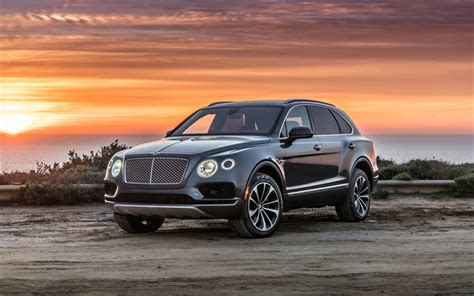 bentley bentayga wallpaper wallpapers bentley bentayga suv 2017 4k