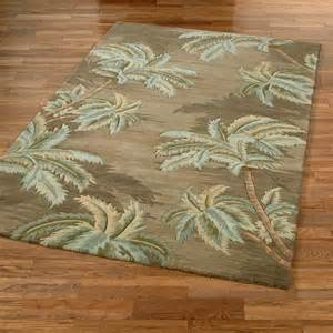 palm trees rugs