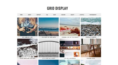 grid style templates how to the best design lifestyle