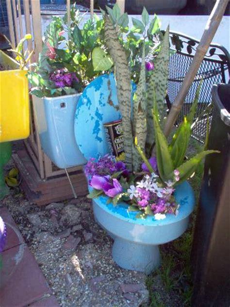 Toilet Flower Planter by Flower Pot Mylot