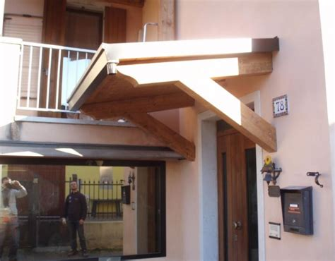 tettoie per balconi in legno pensiline e tettoie in legno coperture civili 187 civer snc