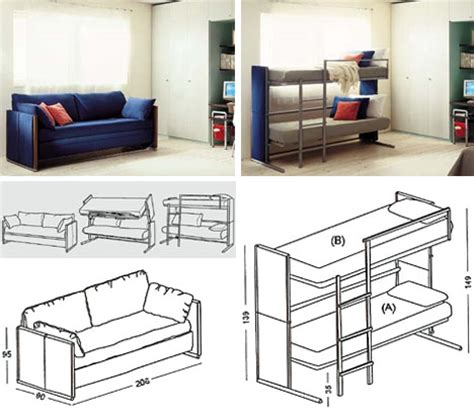 Sofa Bunk Bed Convertible Convertible Bed Sweet Transforming Sofa Design