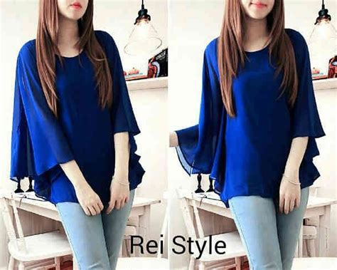 Baju Import Baju Murah Jy782207 Blouse model baju blouse terbaru sleeved blouse