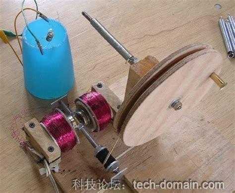 手摇发电机 科学小制作做一个简单的手摇式发电机 让孩子们更多的感受科学带来的乐趣 the