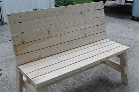 2x4 benches ana white simple 2x4 bench diy projects