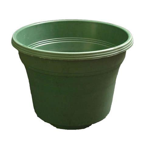 Green Planter Pots by Matte Finish Green Plastic Violet Pot 14 Quot