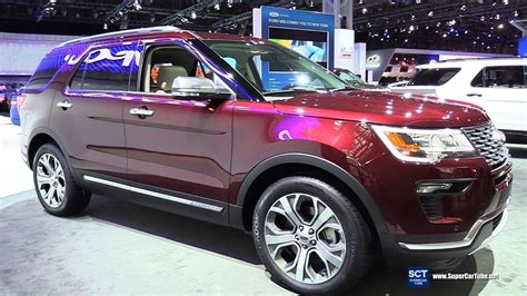 New 2018 Ford Explorer by The 2018 Ford Explorer New Review Car 2018 2019