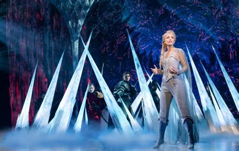 musical review  spectacularly produced frozen