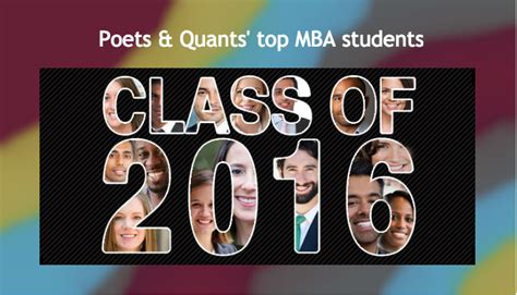 Poets And Quants Top 100 Mba S by Poets Quants Best And Brightest Mbas Includes Host Of