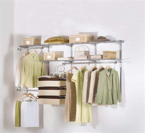 Rubbermaid Deluxe Closet Kit by Rubbermaid Configurations Custom Closet Deluxe Kit