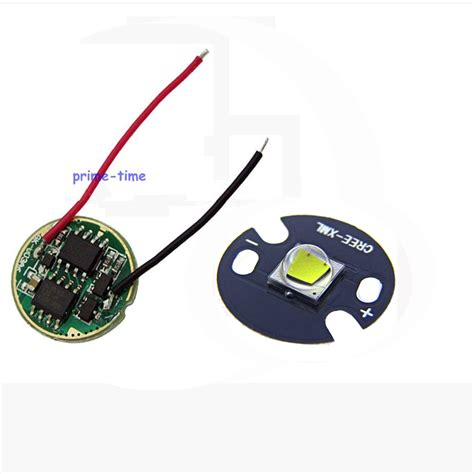 Driver Led Cree 2 sets cree xml2 led white color 10w led emitter chip 16mm