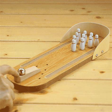 Mini Desktop Bowling mini wooden desktop bowling