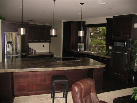 Formica Laminate Kitchen Cabinets Kitchen Cabinets Maple Espresso Countertops Formica Laminate Slate Sequoia
