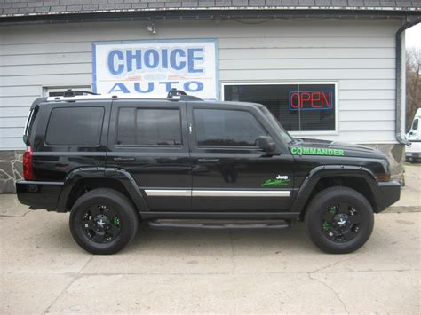 Jeep Comander 2006 by 2006 Jeep Commander Limited Stock 160318 Carroll Ia