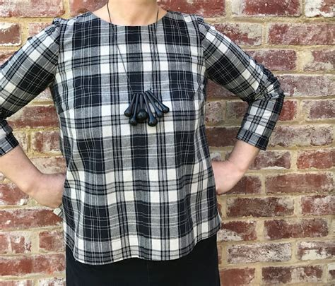 Hadley Top the drapery pattern review grainline hadley top view a