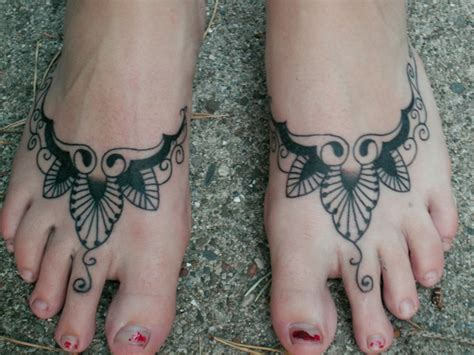 pretty tattoo designs for feet foot tattoos for designs piercing