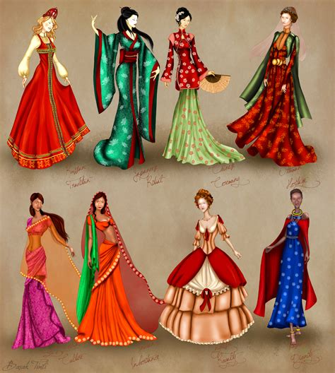 world culture costume series by basaktinli on deviantart