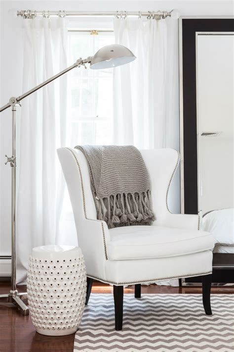 White Wingback Chair Design Ideas Small Bedroom Ideas How To Decorate With Velvet Armchairs