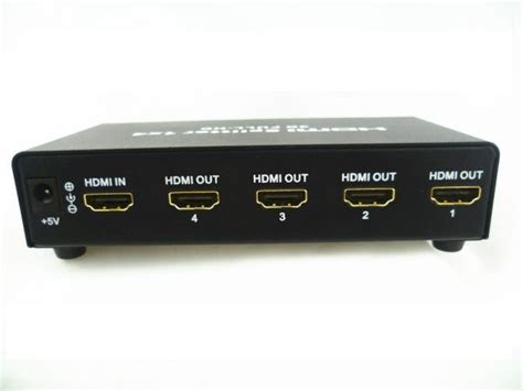 Hdmi Splitter 1 4 E33 mini 4 port 1x4 hdmi splitter converter support 3d hd 1 3