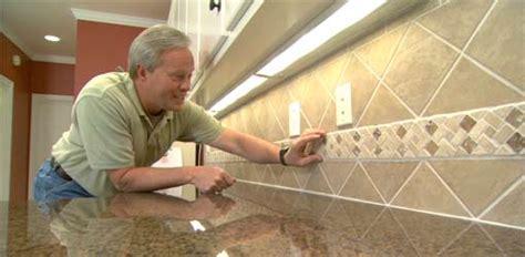 install  ceramic tile backsplash todays homeowner