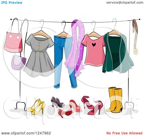 Clothing Rack Clipart by Clip Clothes Rack Cliparts