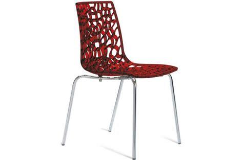 cuisine 騁roite et longue chaise design transparente traviata chaise design
