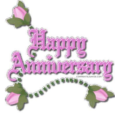 Happy Anniversary Clip Art   happy anniversary animated