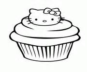 hello kitty cupcake coloring pages cupcake coloring pages free printable