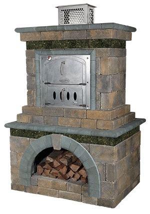 combination outdoor fireplace and grill outdoor fireplace pizza oven combo