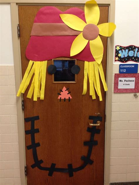 fall door decorations for school fall door decoration grade