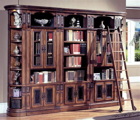 Wall Bookcase With Doors Wall Bookcase With Doors Best Home Design 2018