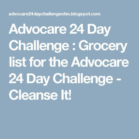 meal ideas for advocare 24 day challenge best 25 24 day challenge ideas on advocare