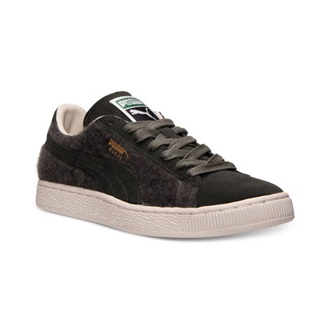 mens sneakers mens suede city casual sneakers in green for