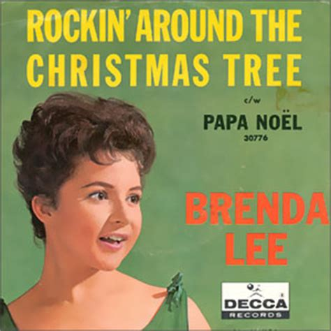 brenda lee rocking around the christmas tree testo e
