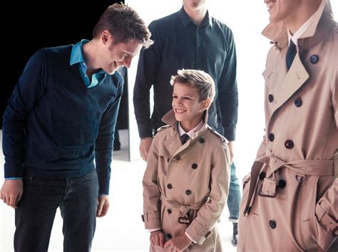 Set Romeo Kid romeo beckham is a burberry model joins ranks of