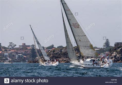 sail boats australia boat sailing in sydney stock photos boat sailing in
