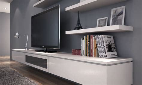 floating wall units for living room floating wall unit living room image tv units and shelves