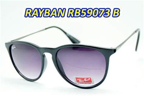 Harga Kacamata Rayban Hitam jual kacamata hitam sunglass rayban rb 59073 pria wanita toko agus