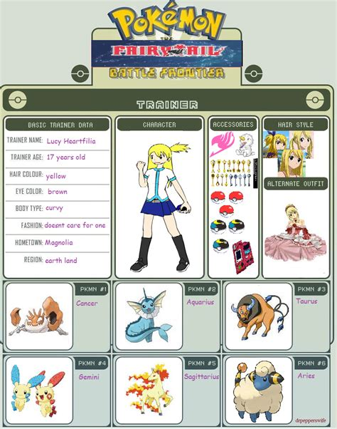 lucy pokemon battle frontier template by sango1994 on